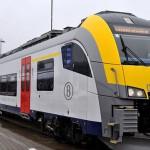 Pociąg w Belgii